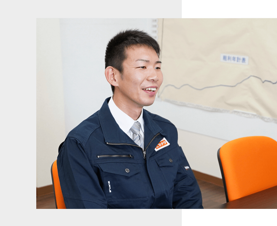 ガス事業部 奥村明寛<br>(2016年新卒入社)